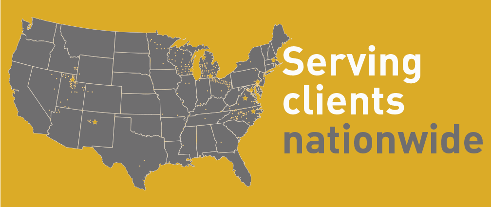 Serving clients nationwide